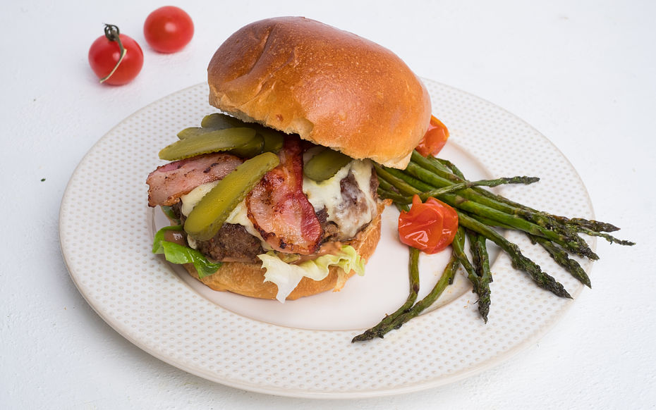 Old style beef burger