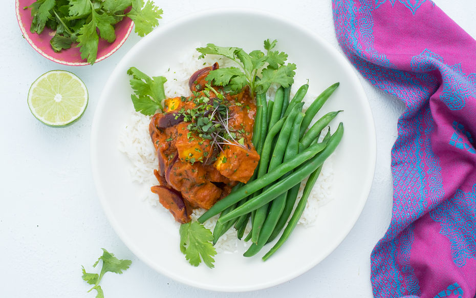 Coconut and Butter tofu