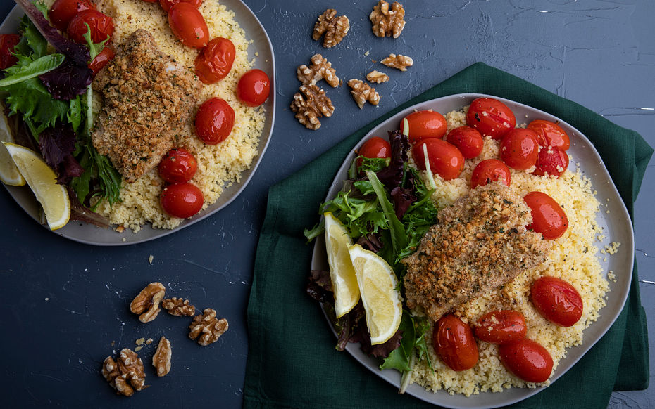 Walnut Crust Haddock