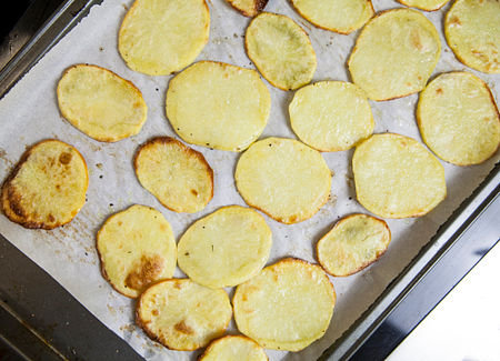 Cook the potatoes