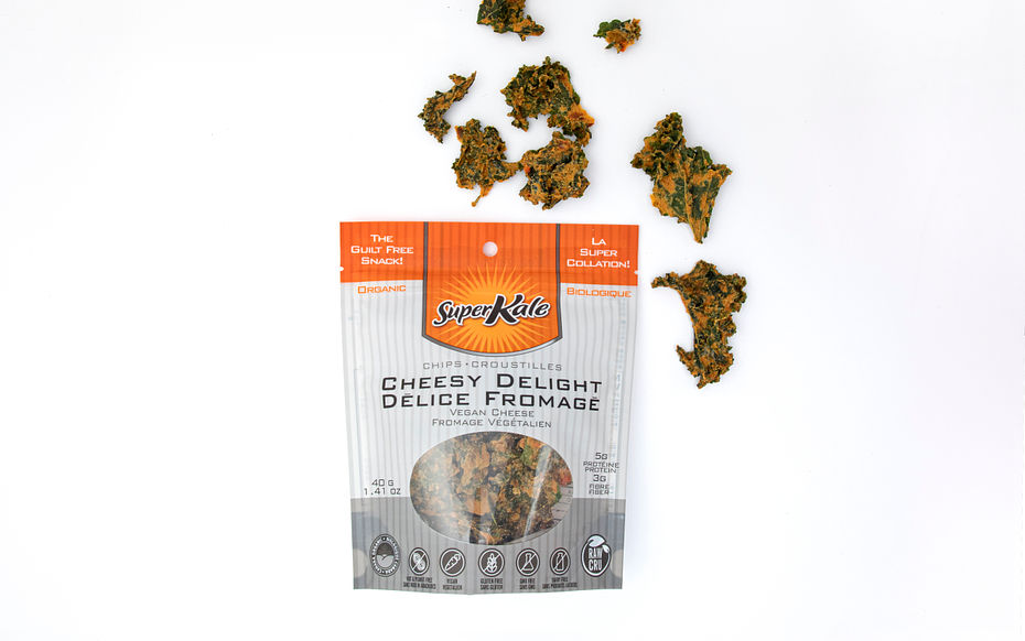 Kale Chips - Cheese