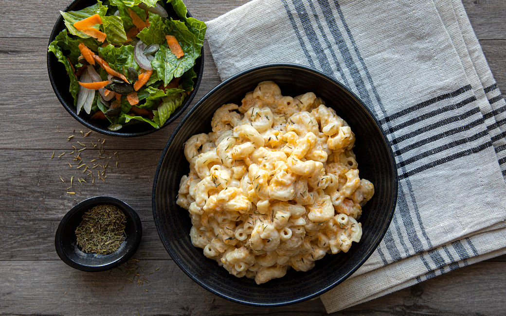 Fall mac and cheese with Butternut Squash