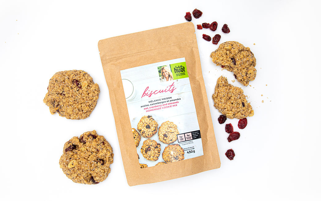 Oat, Cranberry and Almonds Cookie Mix