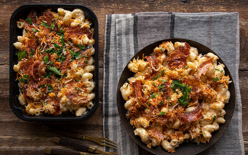 Mac'n'cheese italien