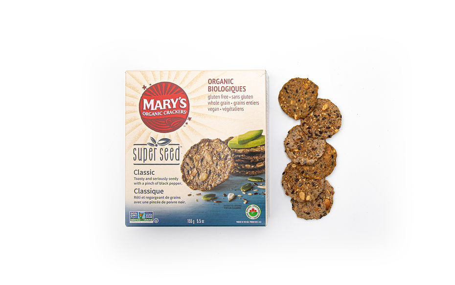 Mary's Gone Crackers Super Seed Classic Crackers