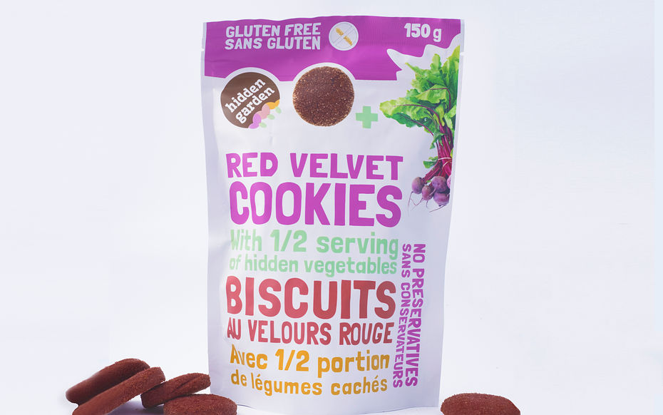 Biscuits au velours rouge
