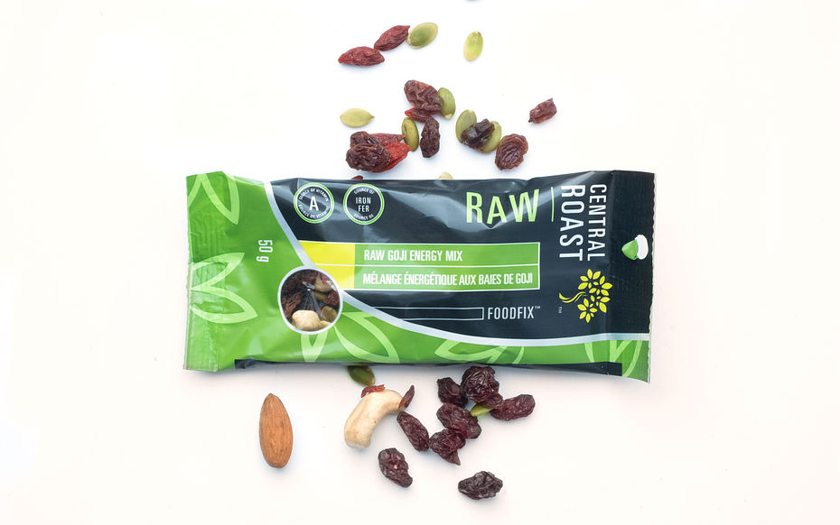 Raw Goji Energy Mix