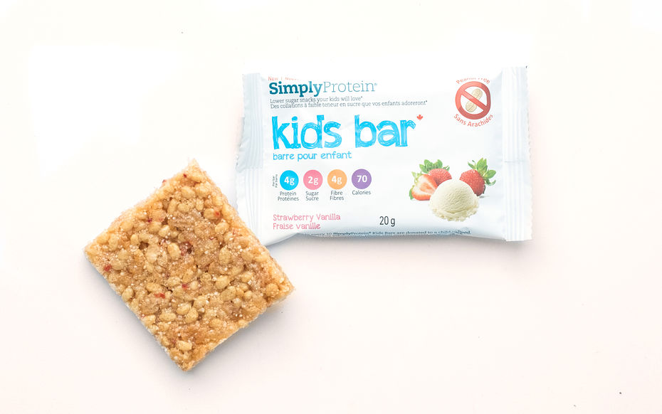 Strawberry Vanilla Kids Bar