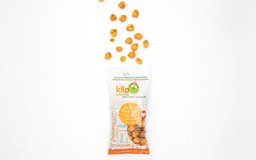Sea Salt Roasted Chickpeas (2 packs)