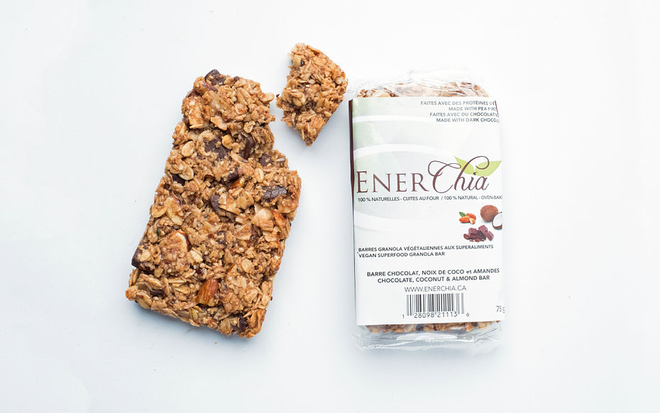 Chocolate Coconut Almond Energy Bar