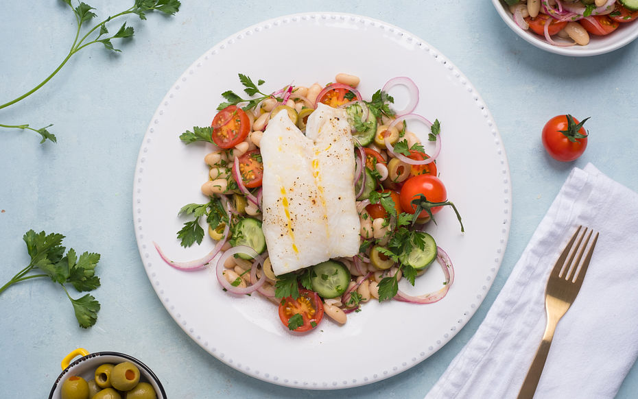 Oven baked Cod
