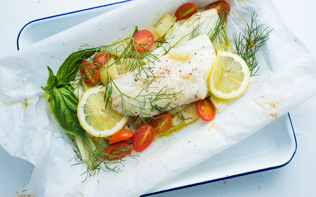 Recipe: Haddock in Papillote with Tomatoes, Fennel and ...
