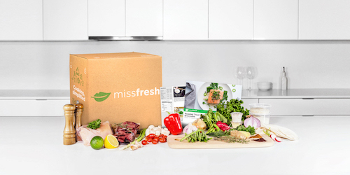 MissFresh box on counter top - High Resolution